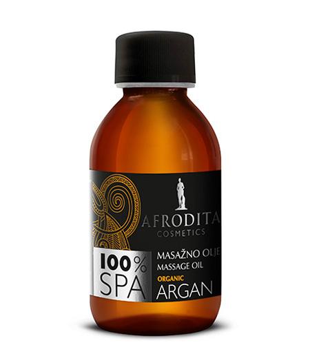 100% SPA MASAŽNO OLJE organic argan