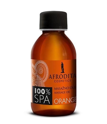 100% SPA MASAŽNO OLJE orange