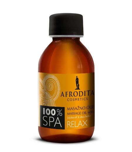 100% SPA Masažno olje RELAX z jojobo