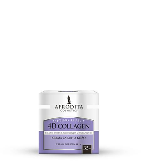 4D COLLAGEN LIFTING EFFECT Krema za suho kožo