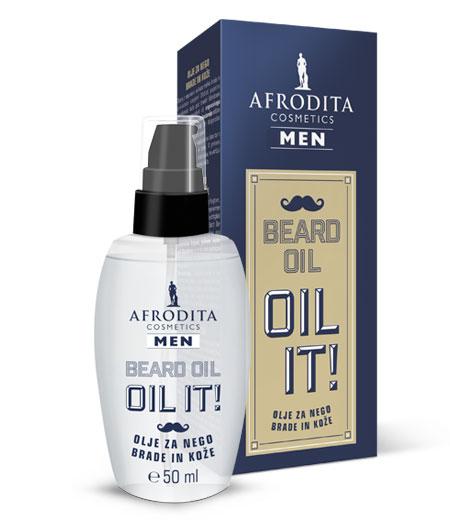 MEN BEARD OIL- olje za nego brade in kože
