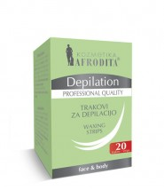 Depilation SINGLE WAXING STRIPS ..