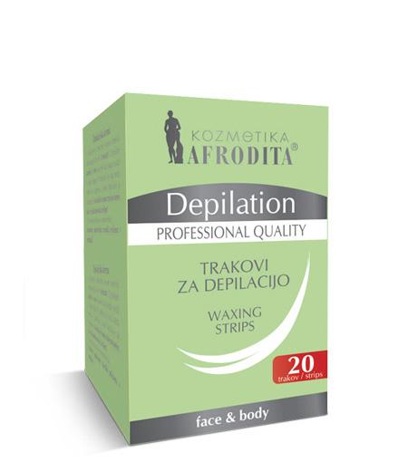DEPILATION Samostojni trakovi za depilacijo