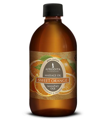 MASSAGE OIL Sladka pomaranča