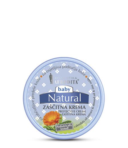 BABY NATURAL Zaščitna krema