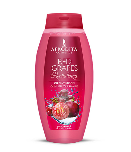 RED GRAPES oljni gel za prhanje