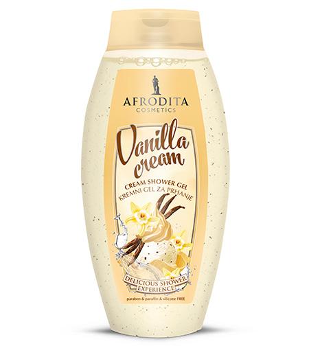 Kremni gel za prhanje Vanilla cream