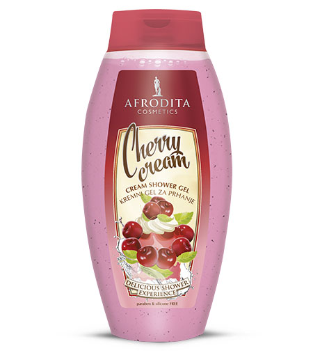 Cherry cream Kremni gel za prhanje