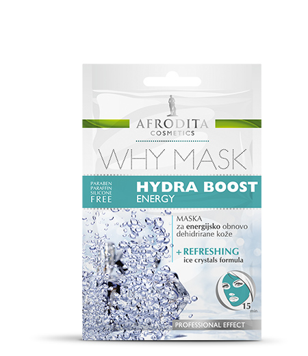 WHY MASK HYDRA BOOST ENERGY maska