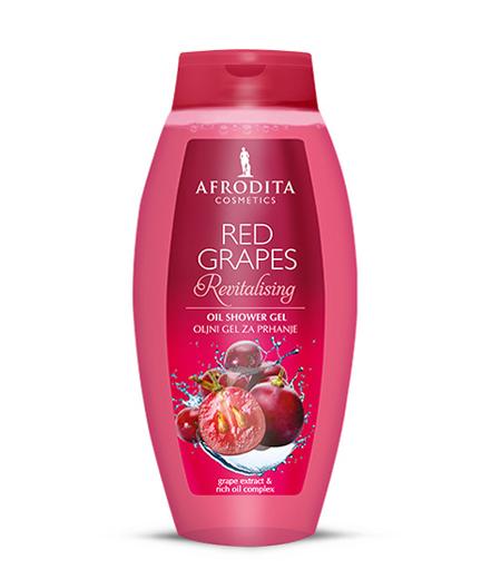 RED GRAPES Öliges Duschgel