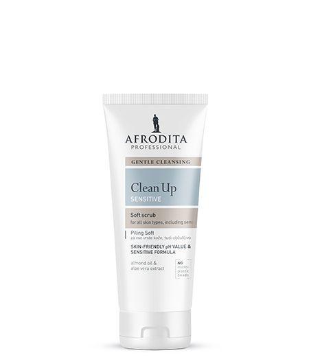 CLEAN UP Piling za lice soft za sve tipove osjetljive kože lica