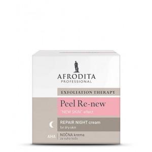 PEEL RE-NEW ''REPAIR'' AHA NIGHT krema za suhu kožu