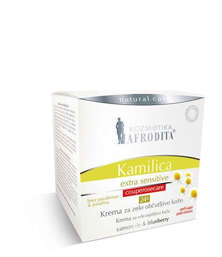KAMILICA EXTRA SENSITIVE 24h krema za vrlo osjetljivu kožu