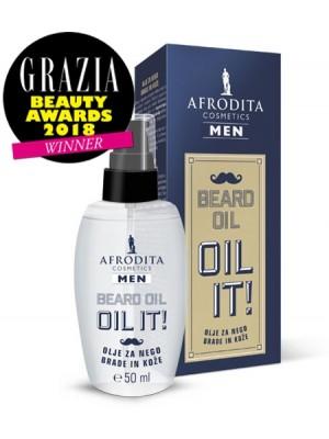 MEN BEARD OIL - ulje za njegu brade i kože
