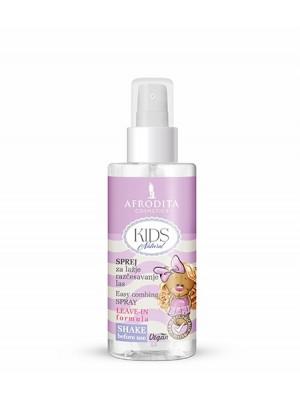 KIDS NATURAL Sprej za lakše raščešljavanje kose