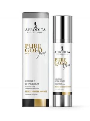 Pure Gold DIVINE 24 Ka RASKOŠNI LIFTING SERUM za normalnu do suhu kožu