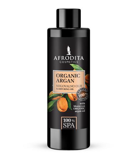 100% SPA ORGANIC ARGAN 100% naravno negovalno olje