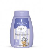 KIDS NATURAL Šampon za lase & telo