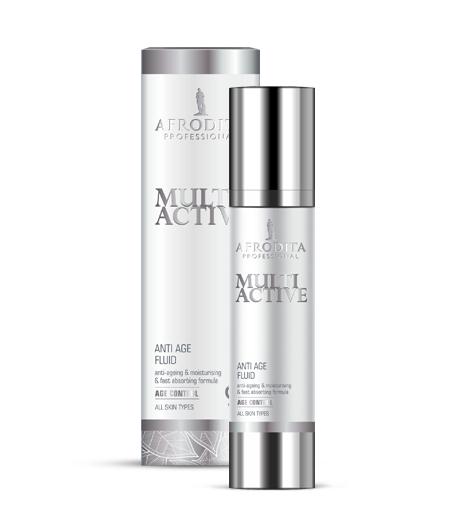 MULTI ACTIVE  ANTI-AGE Multiaktivni fluid