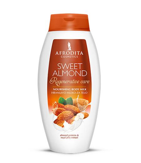 SWEET ALMOND Hranljivo mleko za telo