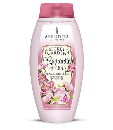 Secret Garden ROMANTIC PEONY Kremni gel za prhanje