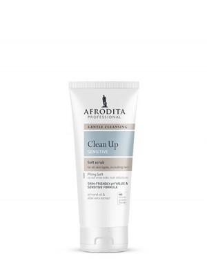 CLEAN UP Piling SOFT za vse vrste občutljive kože