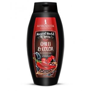 CHILLI & COCOA Oljni gel za prhanje