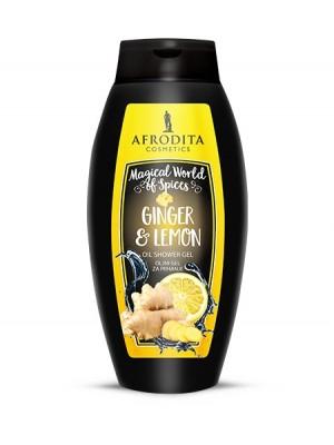 GINGER & LEMON Oljni gel za prhanje