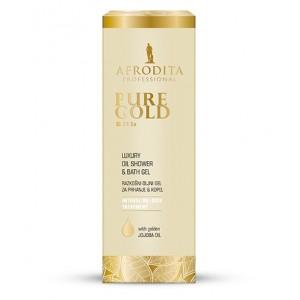 PURE GOLD 24 Ka Razkošni oljni gel za prhanje & kopel