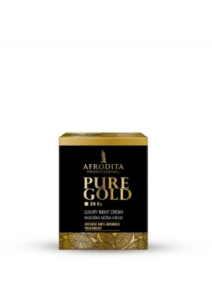 PURE GOLD 24 Ka Razkošna nočna krema