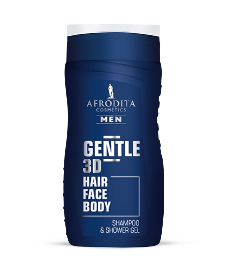 AFRODITA MEN GENTLE gel za šamponiranje in prhanje
