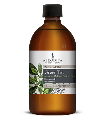 MASAŽNO OLJE Green tea