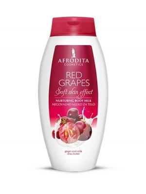 RED GRAPES Negovalno mleko za telo