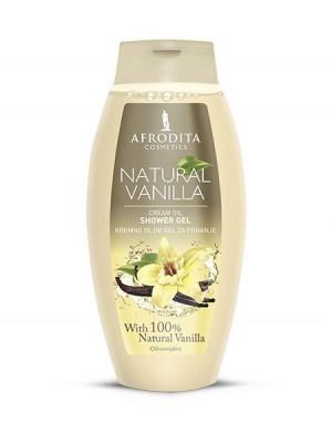 NATURAL VANILLA Kremno oljni gel za prhanje