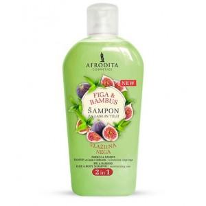 Šampon za lase in telo FIGA & BAMBUS