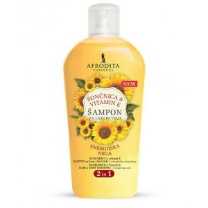 Šampon za lase in telo SONČNICA & VITAMIN E