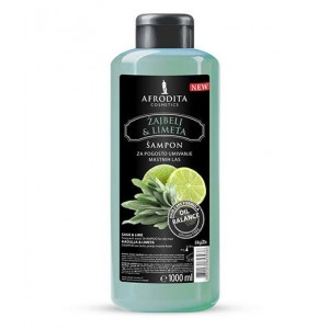 Šampon za lase ŽAJBELJ & LIMETA