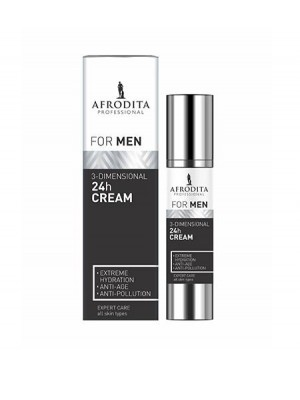 FOR MEN 3-dimenzionalna 24h krema