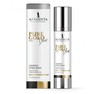 Pure Gold DIVINE 24 Ka RAZKOŠNI LIFTING SERUM za normalno do suho kožo