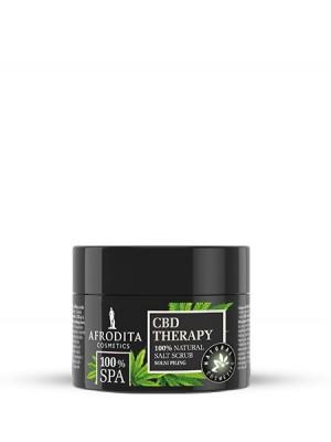100% SPA CBD THERAPY Kremni solni piling za telo