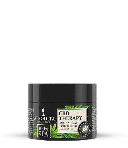 100% SPA CBD THERAPY Maslo za telo