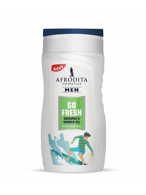 MEN GO FRESH GEL ZA ŠAMPONIRANJE IN PRHANJE