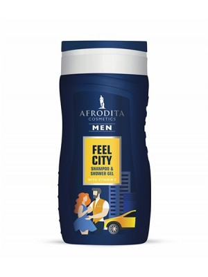MEN FEEL CITY GEL ZA ŠAMPONIRANJE IN PRHANJE