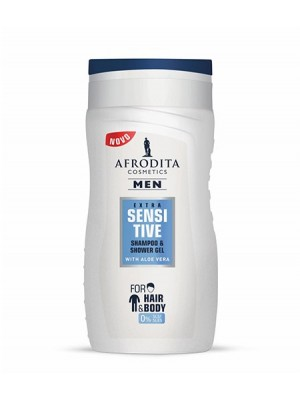 MEN EXTRA SENSITIVE GEL ZA ŠAMPONIRANJE IN PRHANJE