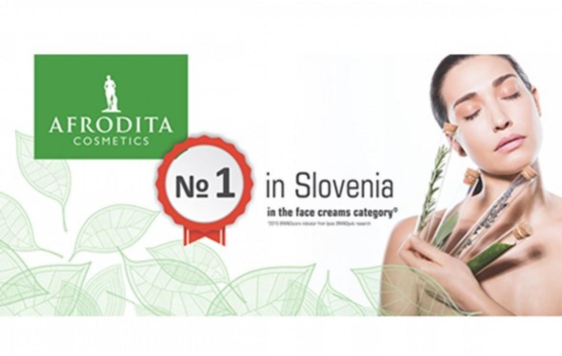ŠT. 1 v Sloveniji znotraj kategorije krem za obraz