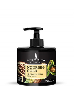 100% SPA NOURISH GOLD Mleko za telo