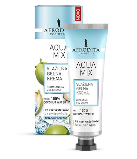 Aqua MIX Vlažilna gelna krema