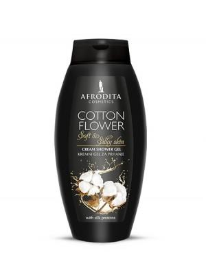 COTTON FLOWER Kremni gel za prhanje