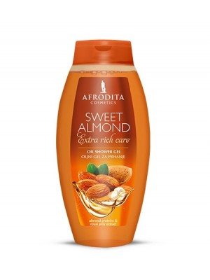 SWEET ALMOND Oljni gel za prhanje 250ml