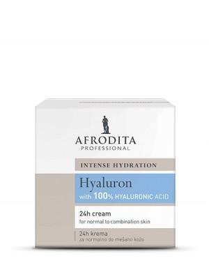HYALURON 24H KREMA za normalno - mešano kožo 50 ml